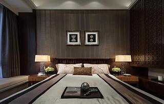 沉韵中式装修风格公寓装潢案例图