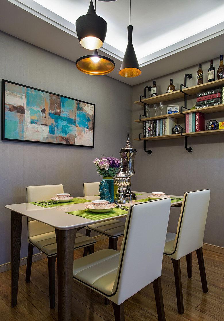 艺术创意现代简约公寓餐厅装潢效果图