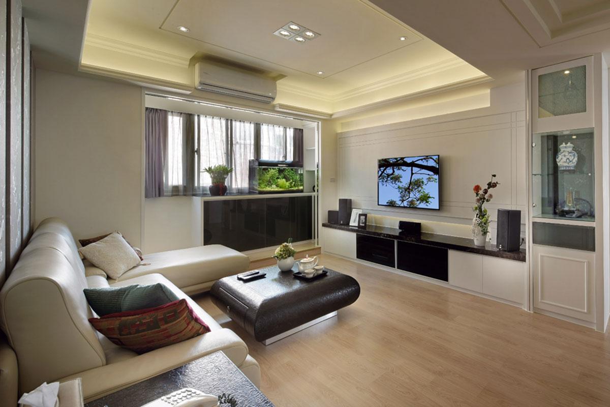 时尚现代设计复式客厅装修效果鉴赏图