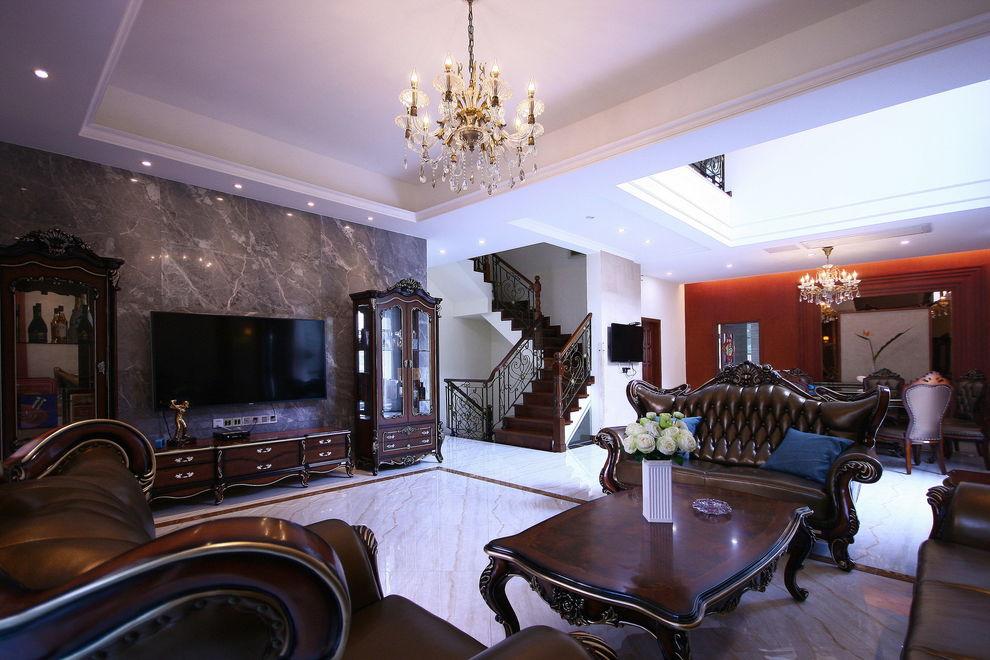 时尚欧式潮流设计别墅室内装潢欣赏美图