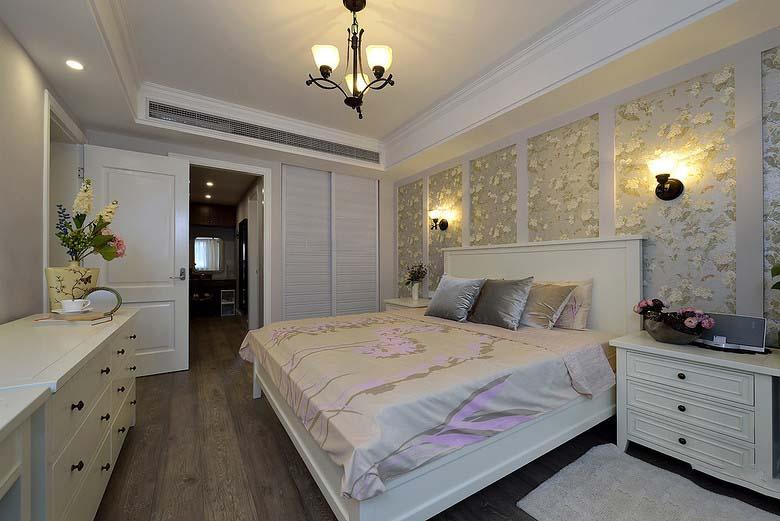 浪漫优雅美式卧室装潢效果图大全