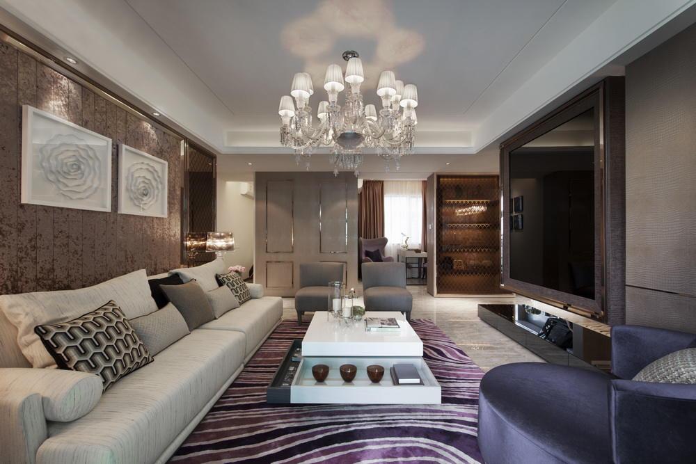 欧式设计装修客厅效果图