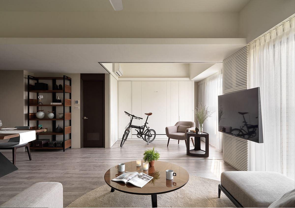 简洁实用北欧风格家居室内茶几装饰图