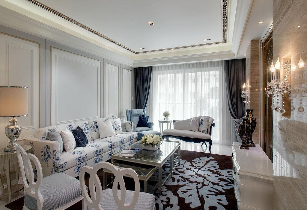 高雅和谐新古典别墅室内装修美图