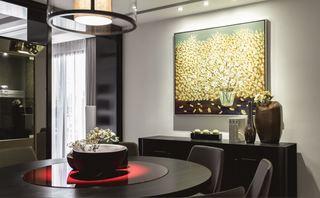 6萬裝修中式現代風格兩室兩廳樣板房