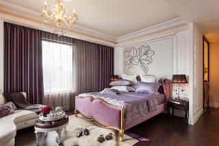 浪漫精美紫色欧式卧室装饰大全