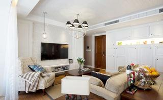 简约美式设计公寓客厅灯饰欣赏