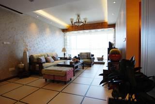 68平温馨宜家田园新中式混搭二居装潢设计