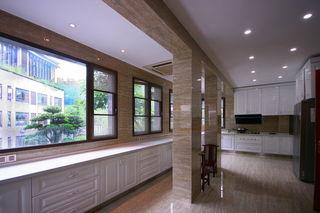 高端宽敞现代欧式风格厨房设计效果图