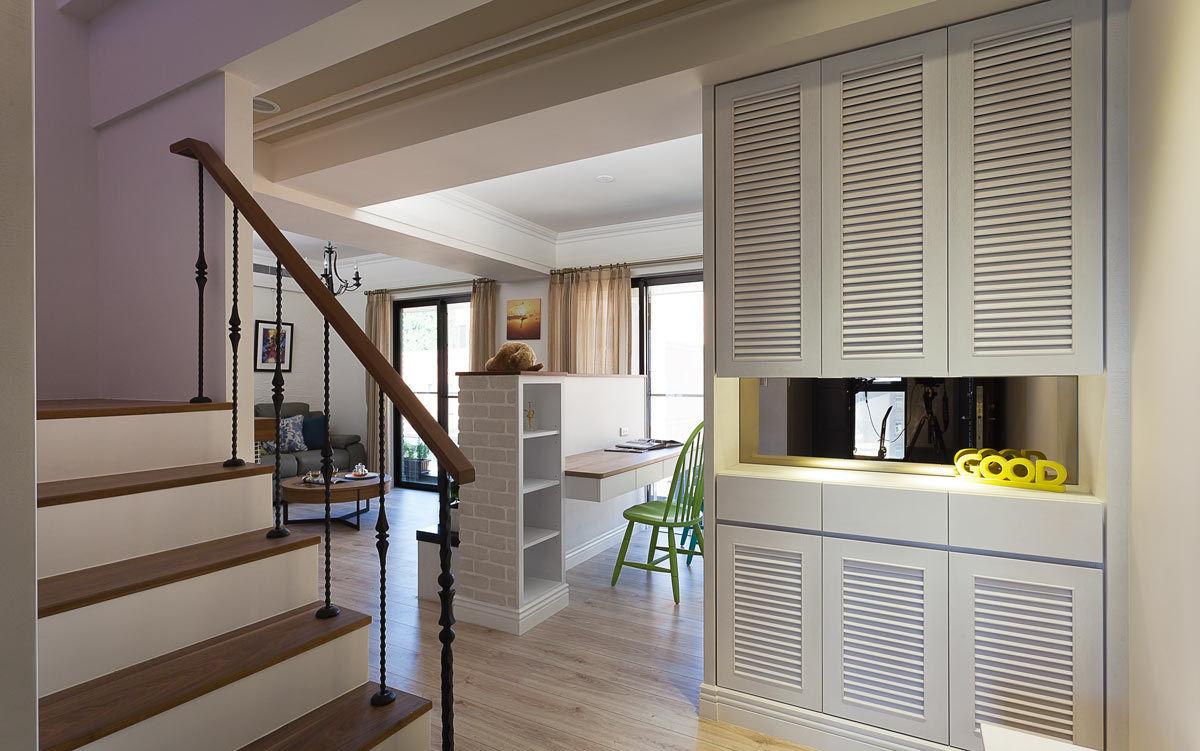 美式装修复式楼梯设计