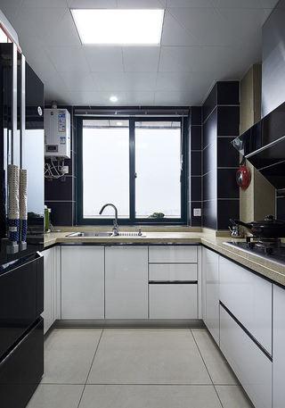 现代厨房吊顶装修效果图