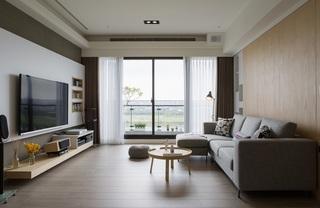 现代简约宜家风客厅装饰效果图大全