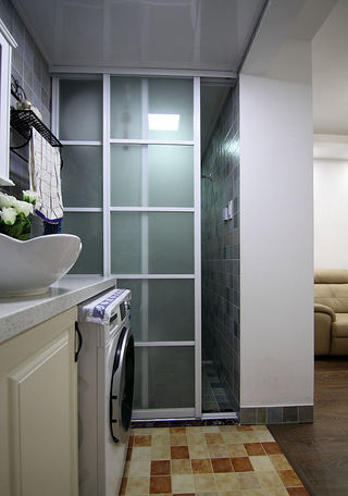 时尚现代家居移门隔断设计