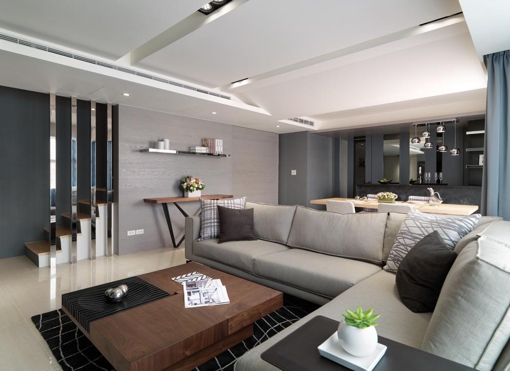 现代简约装修跃层公寓欣赏图片