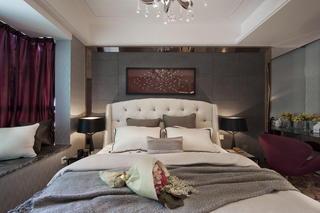 欧式风格卧室局部装饰图