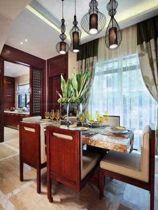 豪华精美东南亚餐厅设计大全欣赏