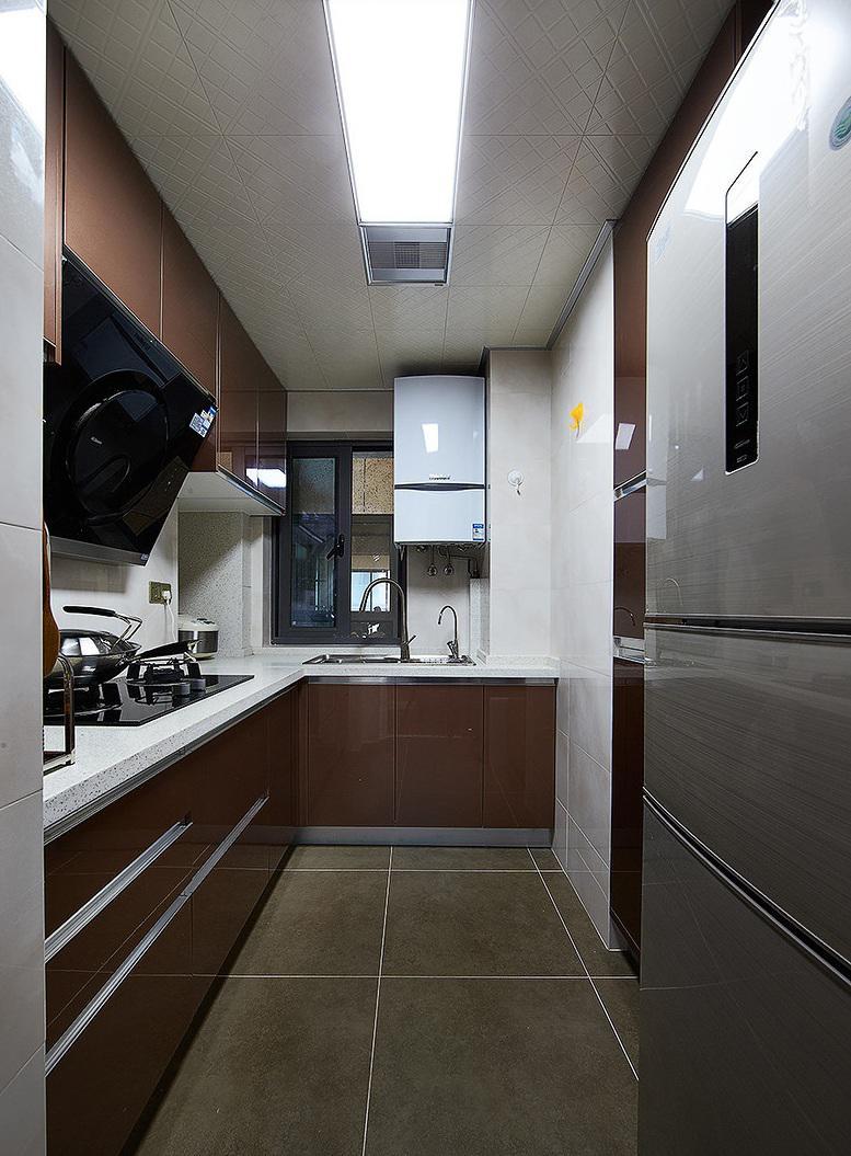 现代设计装修厨房吊顶效果图