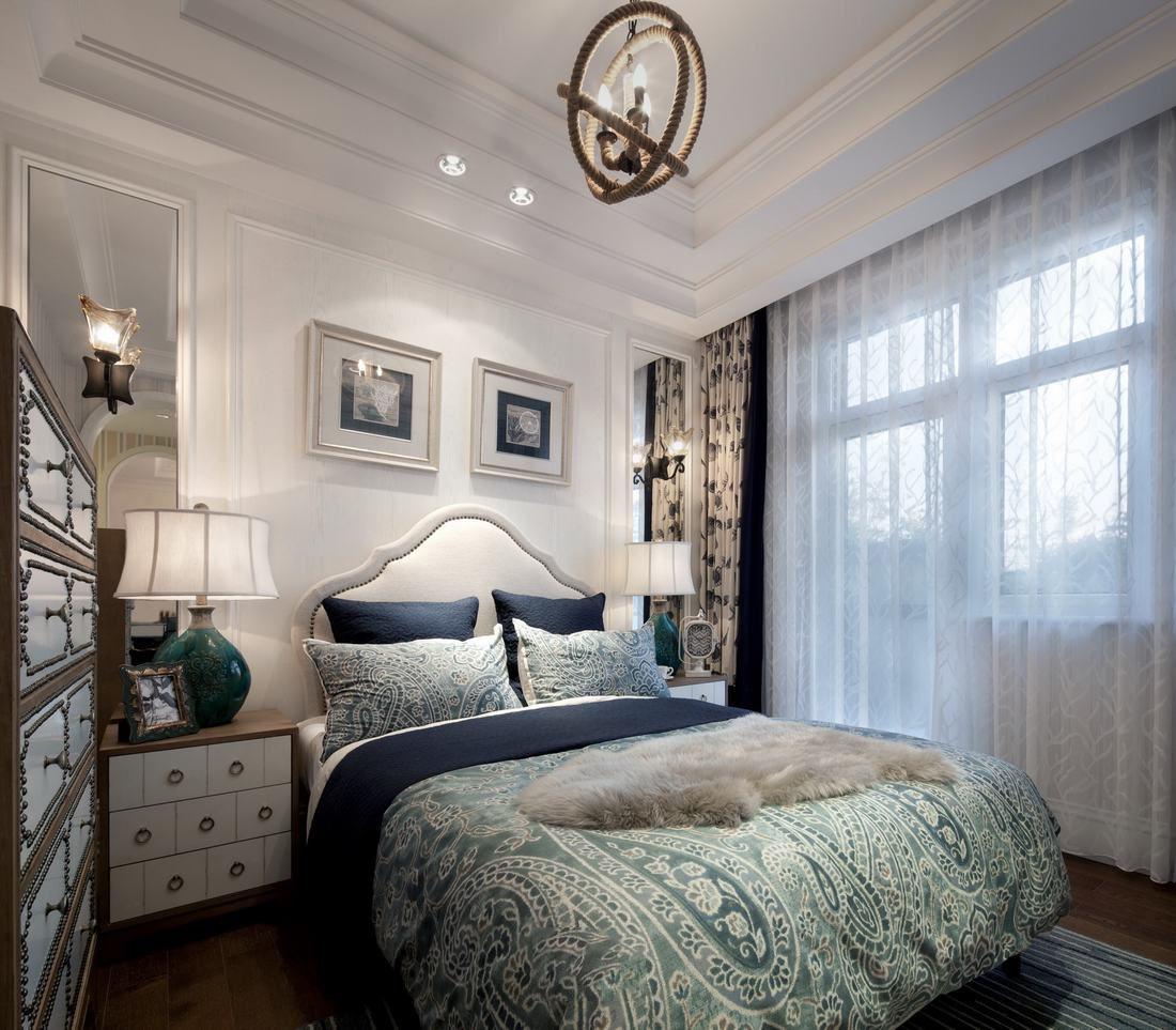 精美优雅地中海装饰卧室效果图大全