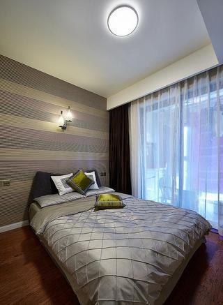 摩登现代设计风格卧室隔断设计装修图