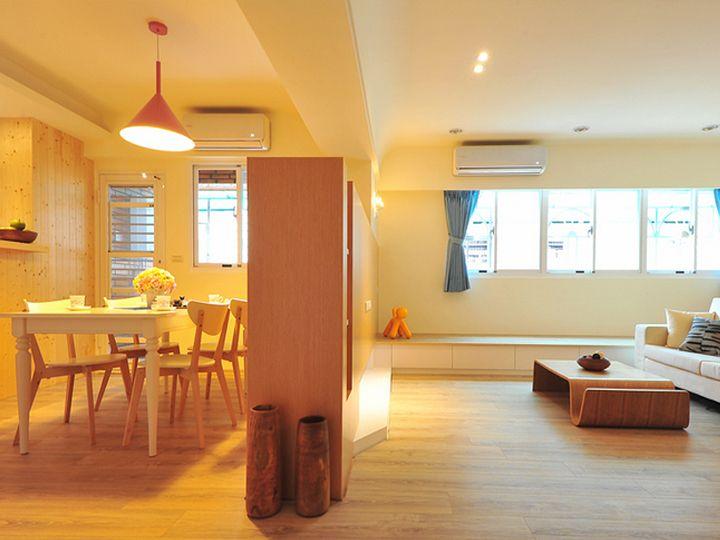 简约设计原木装修小户型室内装潢美图借鉴