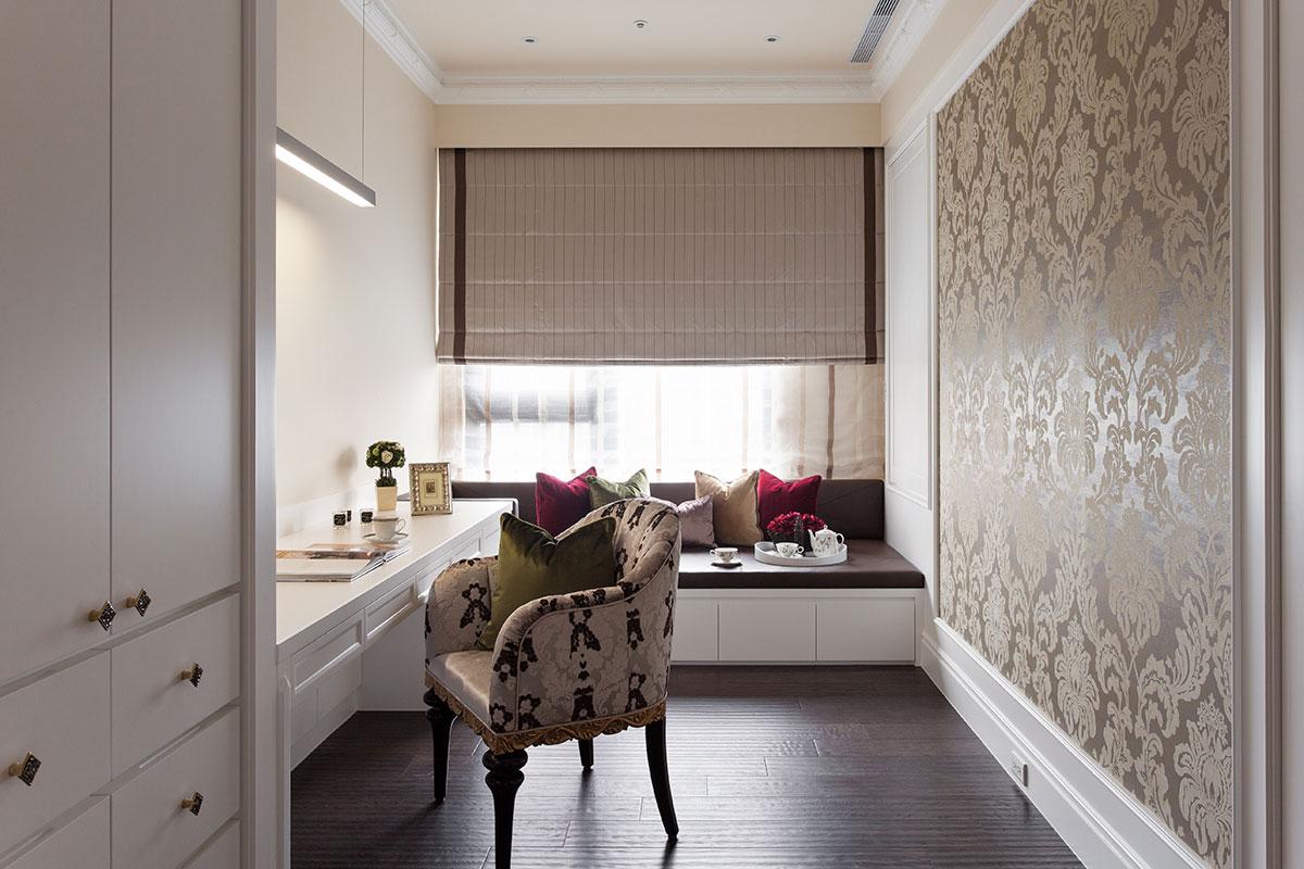 精美欧式室内小书房带飘窗设计大全