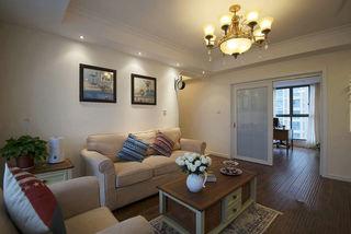 简约田园风格两室两厅室内装修图片