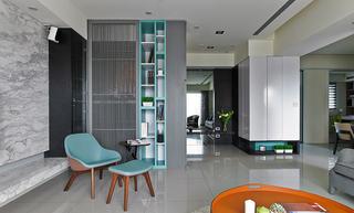 简洁现代装修家居室内隔断设计