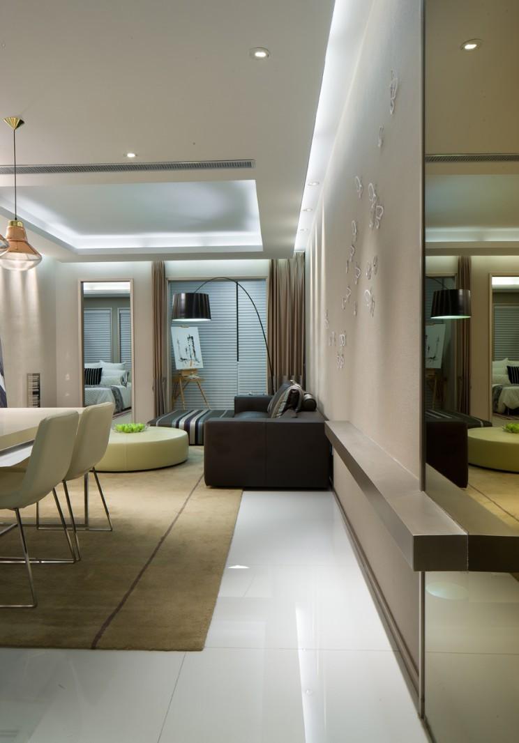 浪漫艺术现代家居装修设计图