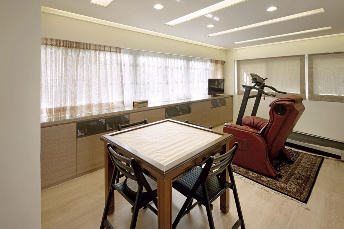 时尚现代设计风格复式娱乐休闲房吊顶效果图