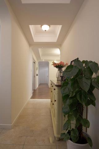 简约田园风格家居室内过道吊顶设计