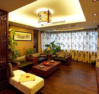 中国古典中式风格客厅装潢欣赏图