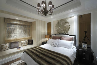 奢华现代欧式卧室装饰