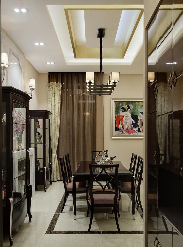 时尚现代简欧餐厅装潢设计大全