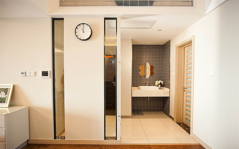 最新简约现代风二居室装修图片