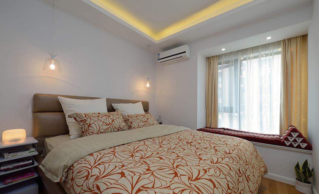 温馨简约现代风卧室装饰效果图大全