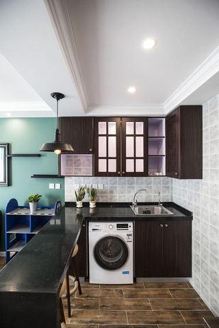 古朴美式风格厨房装修吊顶设计图