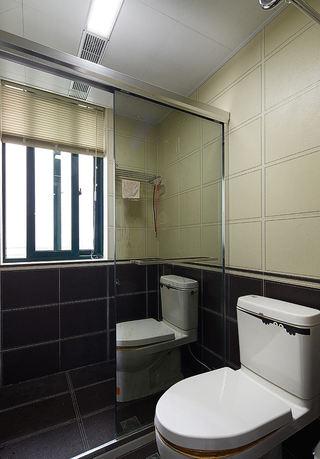 时尚现代卫生间干湿分离区设计