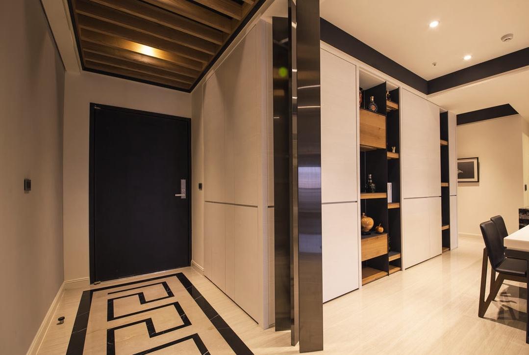 时尚摩登现代家居玄关过道装饰设计