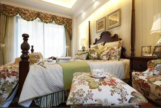 清新浪漫欧式碎花田园风卧室装饰设计