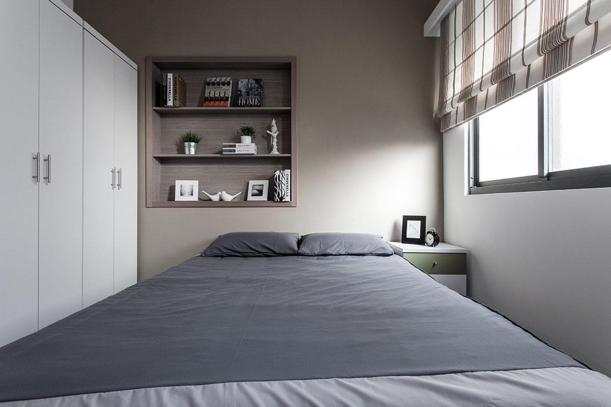 小户型卧室简约装饰图