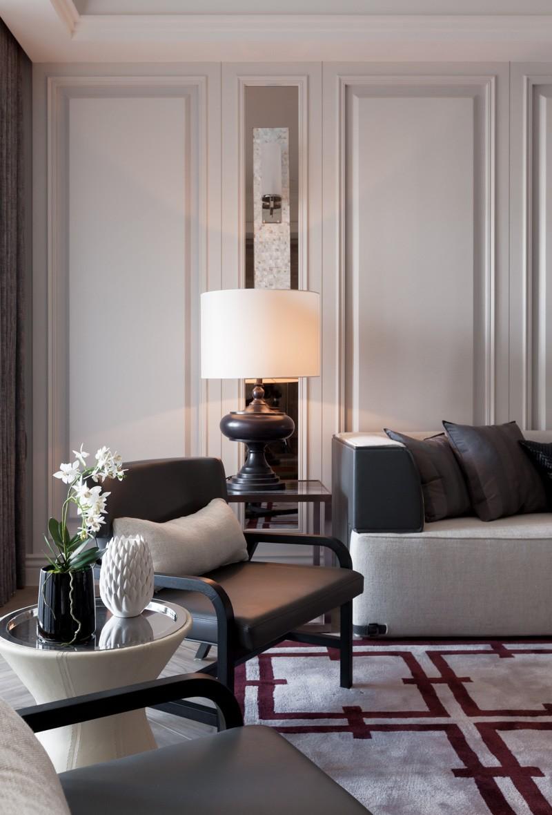 家居室内现代设计装修台灯装饰效果图