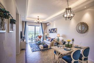 地中海设计装修风格三居室装潢案例图片