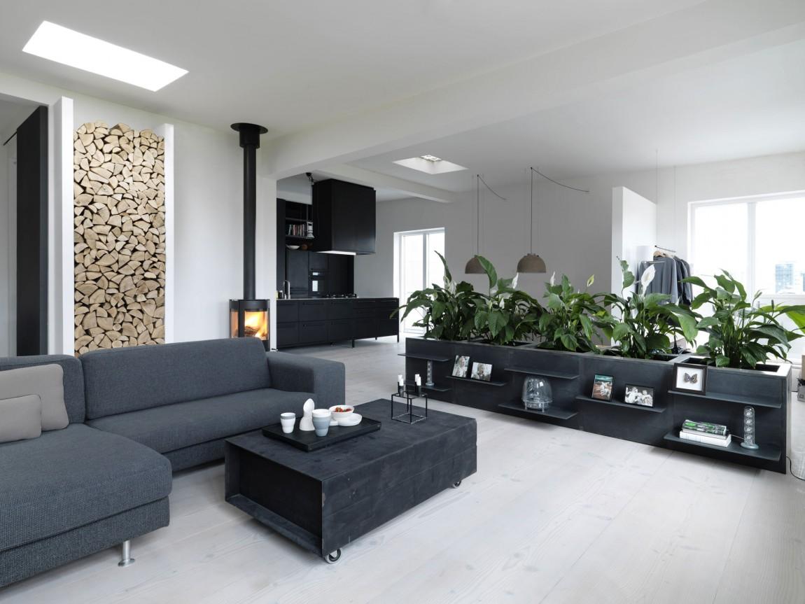 8万全包时尚摩登北欧风格二居室内设计装修图片