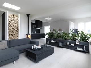 8萬全包時尚摩登北歐風格二居裝修圖片