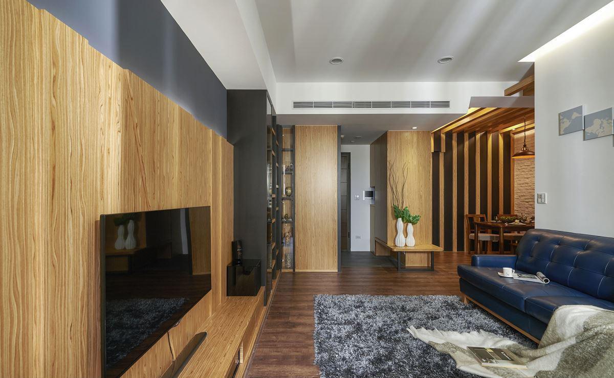 休闲实木美式家居背景墙效果图大全