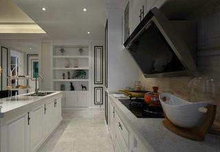 奢华美式家居开放式厨房效果图欣赏