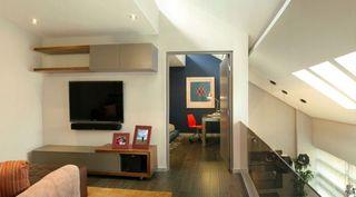 复古宜家北欧风情不规则吊顶公寓装饰欣赏