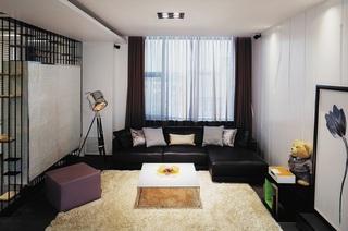 时尚现代复式客厅设计装修图