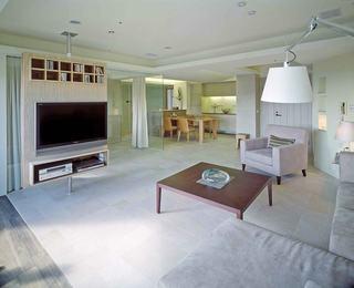 简约风格三室两厅客厅装修