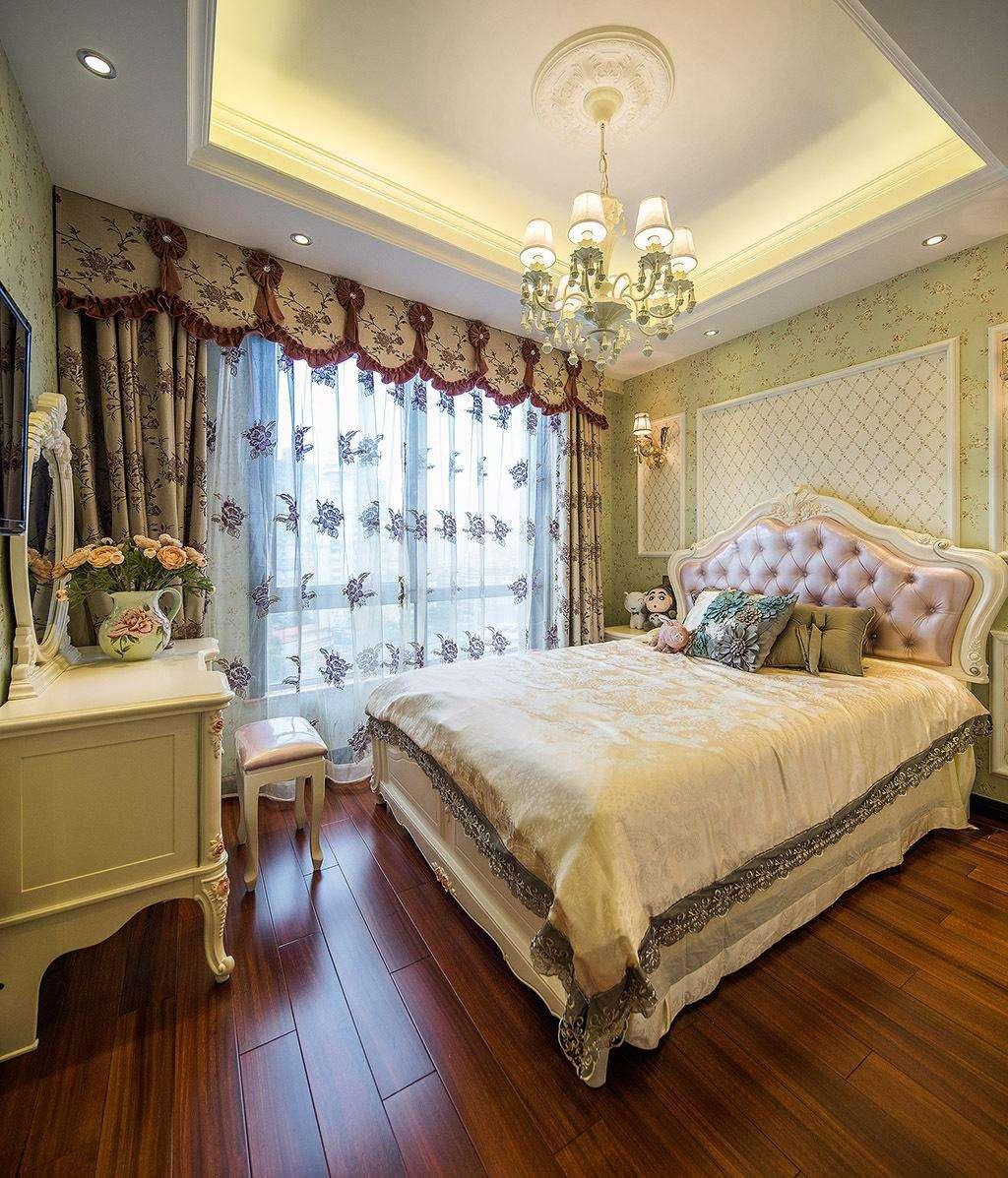 浪漫精美欧式风格卧室效果图大全